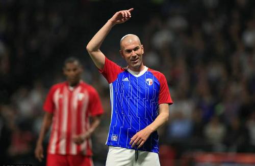 Zidane là ngôi sao sáng nhất trận đấu. Ảnh: Reuters.