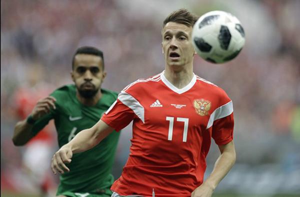 Nga 1-0 Ảrập Xêút (hiệp một): Chủ nhà ghi bàn đầu tiên ở World Cup 2018 - ảnh 1