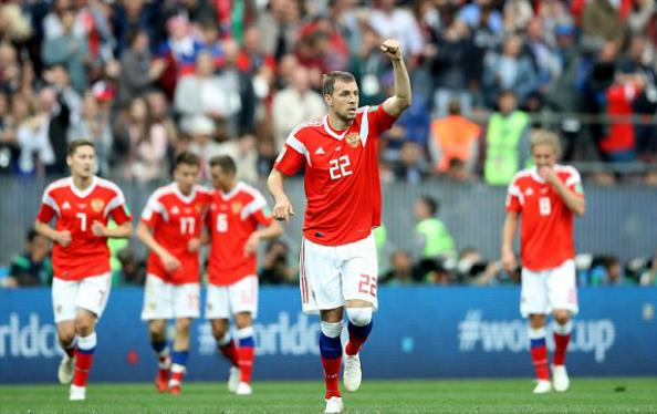 Nga giành chiến thắng năm sao trong trận mở màn World Cup 2018 - ảnh 2
