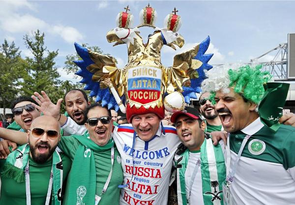 Nga 1-0 Ảrập Xêút (hiệp một): Chủ nhà ghi bàn đầu tiên ở World Cup 2018 - ảnh 8