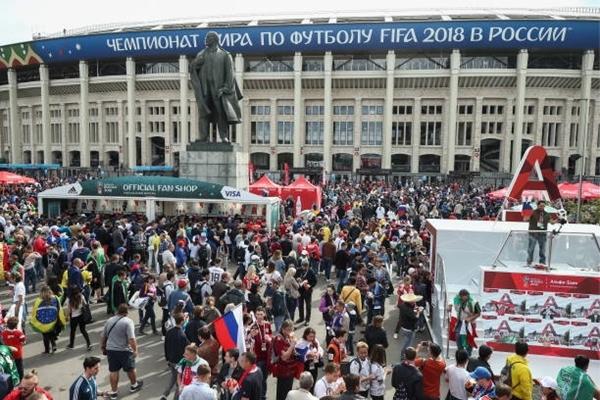 Lễ khai mạc World Cup 2018: Cup vàng thế giới xuất hiện - ảnh 6