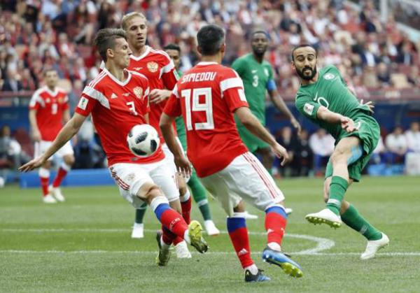 Nga 3-0 Ảrập Xêút (hiệp hai): Chủ nhà mở màn tưng bừng - ảnh 1