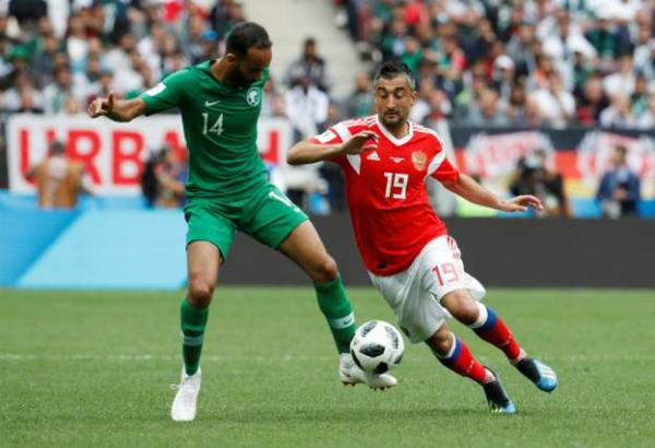 Nga 2-0 Ảrập Xêút (hiệp một): Cựu cầu thủ Real ghi bàn cho chủ nhà - ảnh 3