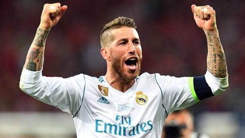 Ramos ủng hộ Hierro lên làm HLV. Ảnh: AFP.