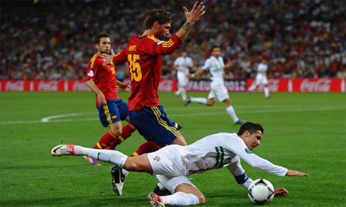 Ramos và các đồng đội có thừa tự tin để bước vào trận đấu với Bồ Đào Nha của Ronaldo hôm nay.