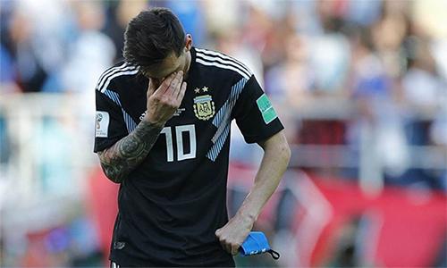 Messi vẫn nhận được sự tín nhiệm tuyệt đối từ Sampaoli. Ảnh: AP.
