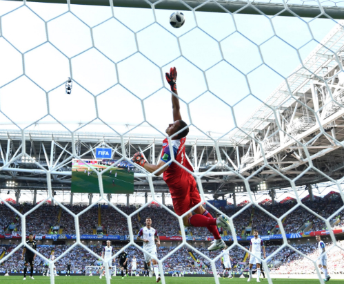 Thống kê cho thấy Halldorsson đã có tới sáu pha cứu thua trước Argentina.