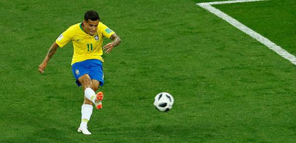 Siêu phẩm mang thương hiệu Coutinho. Ảnh: Reuters.