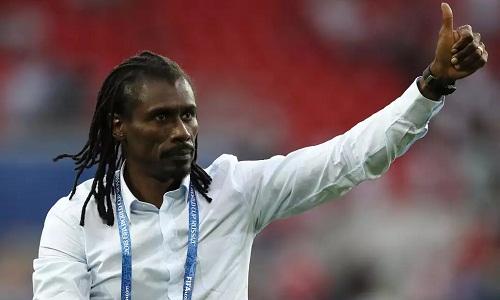 Aliou Cisse tin vÃo thÃnh công của một đội châu Phi trong tÆ°Æ¡ng lai. Ảnh:ÂReuters.