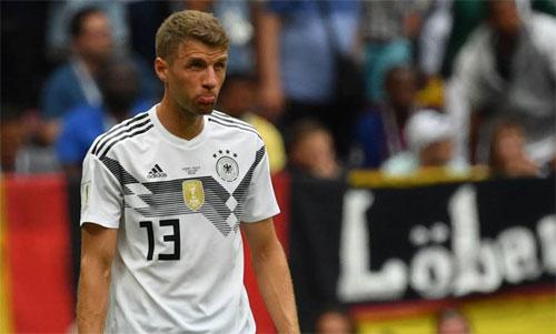 Muller và tuyển Đức đang phải chiến đấu để tìm lại sự tự tin. Ảnh: Reuters