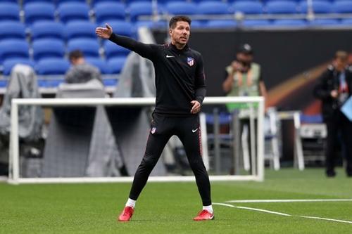 Simeone được đồn đoán có thể dẫn dắt Argentina trong tương lai. Ảnh: Reuters.