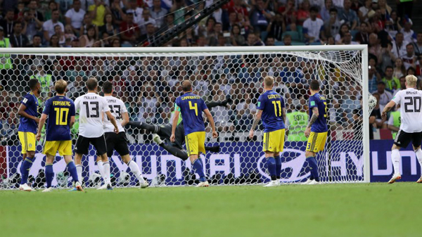 ... làm tung lưới tuyển Thụy Điển. Ảnh:FIFA.