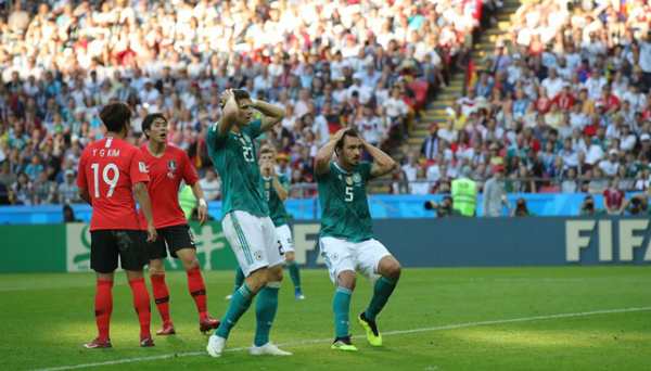 Đức thiếu đi sự sắc sảo ở những pha dứt điểm khiến họ tạo ra nhiều cơ hội nhưng không có bàn thắng. Ảnh:FIFA.