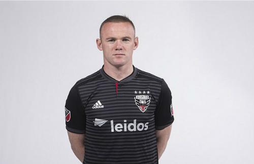 Rooney công bố trong màu áo DC United. Ảnh: PA.