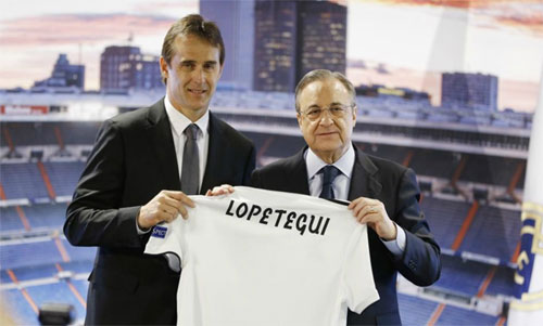 Lopetegui bị sa thải ngay trước World Cup và lập tức ra mắt tại Real Madrid. Ảnh: Reuters
