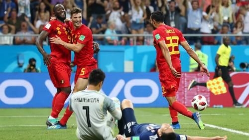 Đội tuyển Bỉ nở nụ cười sau cùng dù có thời điểm đặt một chân rời World Cup 2018. Ảnh:FIFA.