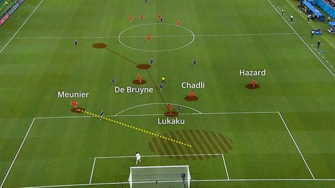 Bỉ chỉ mất 12 giây khi ấn định thắng lợi 3-2 trước Nhật Bản