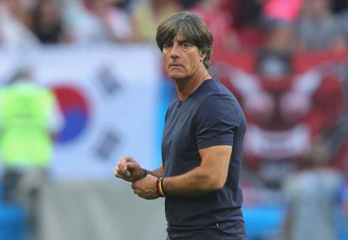 HLV Joachim Low nhận trách nhiệm về việc tuyển Đức bị loại sớm tại World Cup 2018.