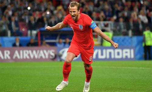 Kane chỉ cần ba trận góp mặt để ghi sáu bàn. Ảnh: Reuters