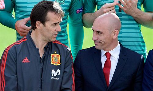 Rubiales vẫn tin rằng ông cùng REFE đã đúng khi sa thải Lopetegui ngay trước thềm World Cup.