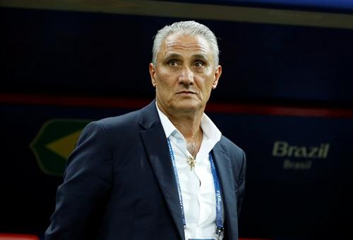 HLV Tite ca ngợi màn trình diễn của cả Brazil lẫn Bỉ tối 6/7. Ảnh: AP.