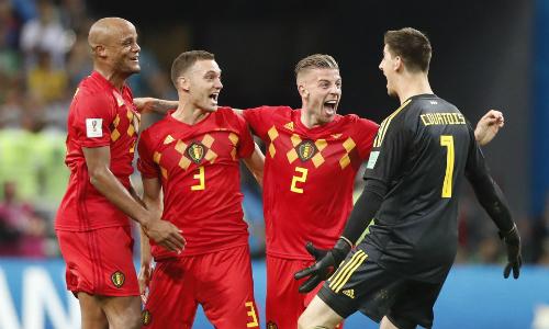 Bỉ giúp giữ chức vô địch World Cup ở lại châu Âu. Ảnh: AP.