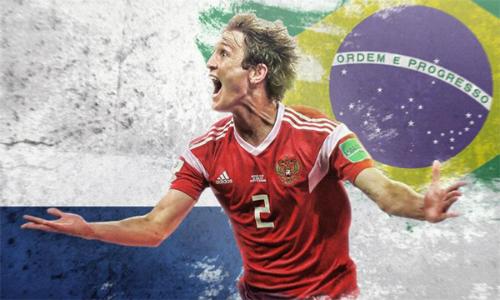 Mang trong mình dòng máu Brazil, nhưng Fernandes đã chọn tuyển Nga để cống hiến.
