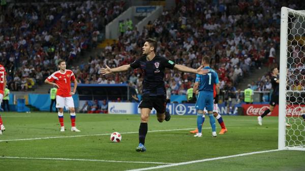Bàn thắng của Kramaric lấy lại sự tự tin cho Croatia. Ảnh:FIFA.