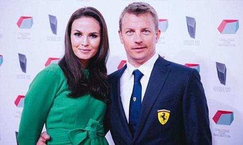 Minttu Raikkonen bênh vực chồng sau phát ngôn của Hamilton. Ảnh: Instagram/Minttu Raikkonen.