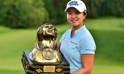 Kim Sei-young đi vào lịch sử LPGA Tour 1 1 vàih ấn tượng dù mới 25 tuổi. Ảnh: LPGA Tour.