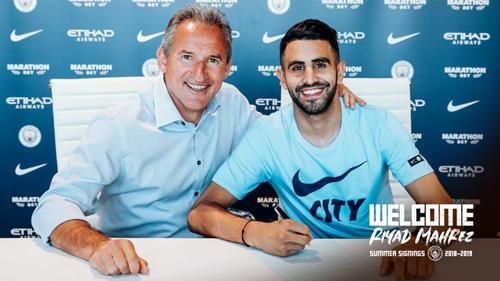 Man City mua Mahrez với giá 80 triệu đôla