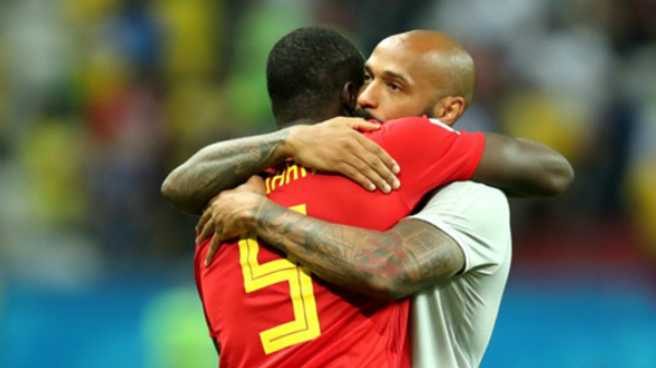 Lukaku và Henry không thể giúp Bỉ lật đổ Pháp khi chạm trán ở những giải đấu lớn. Ảnh: FIFA.
