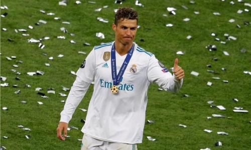 Ronaldo viết tâm thư mùi mẫn khi rời Real sau chín năm gắn bó. Ảnh: Reuters.