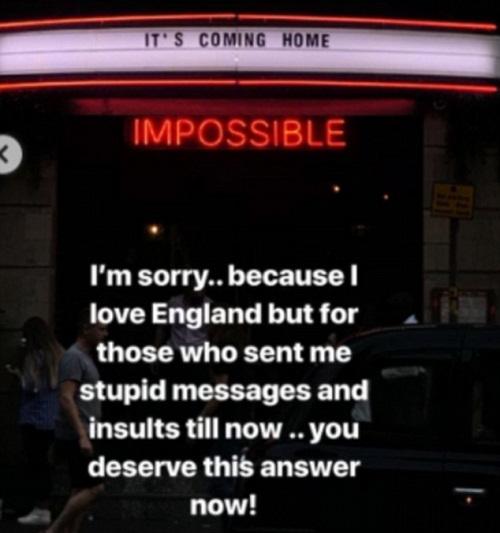 Thông điệp Mbappe gửi đến các CĐV Anh. Ảnh: Instagram/Kylian Mbappe.
