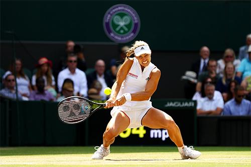 Kerber lần thứ hai vào chung kết Wimbledon chỉ sau ba năm. Ảnh: Sky Sports.