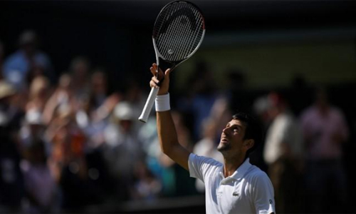 Djokovic mong chiến thắng ở Wimbledon năm nay sẽ mang anh trở lại với đỉnh cao. Ảnh: Reuters.