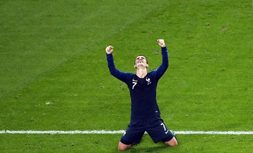 Griezmann chờ đợi giây phút cùng tuyển Pháp lần thứ hai vô địch thế giới.