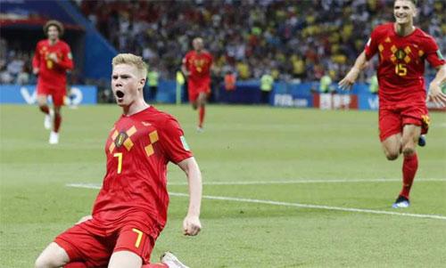 Bỉ thi đấu thực sự lột xác tại World Cup 2018. Ảnh: Reuters