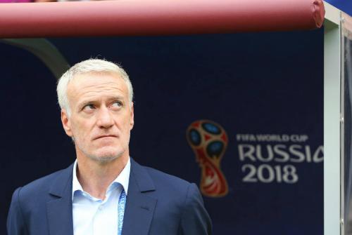Deschamps chưa quên bài học ở chung kết Euro 2016. Ảnh: Reuters.