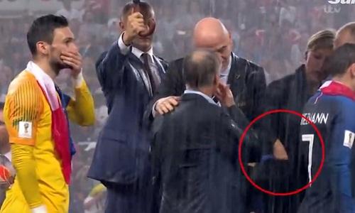 在世界杯:涉嫌偷走金勋章的官员