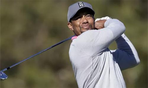 Tiger Woods lần đầu chơi tại The Open sau ba năm. Siêu Hổ hiện xếp vị trí 71 thế giới và đã trải qua 10 năm không vô địch major. Ảnh: USA Today.