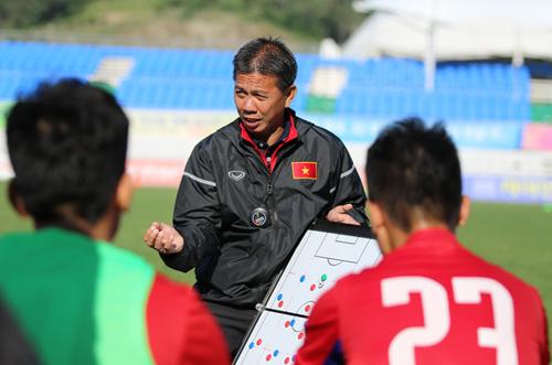 HLV Hoàng Anh Tuấn được kỳ vọng sẽ tiếp tục giúp bóng đá Việt Nam tạo kỳ tích ở giải U19 châu Á. Ảnh: VFF