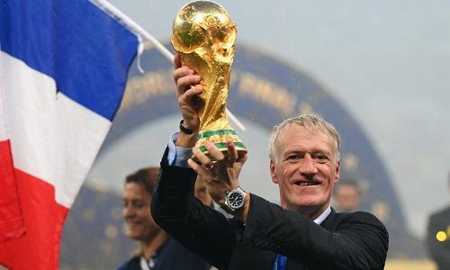 Deschamps là đối thủ nặng ký của Zidane trong cuộc đua giành giải HLV hay nhất năm của FIFA. Ảnh: Reuters.