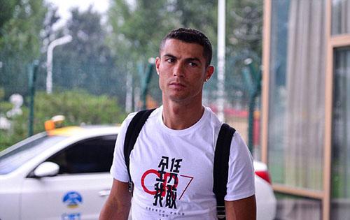 Ronaldo hiện là ngôi sao thể thao số một trên mạng xã hội. Ảnh: REX.