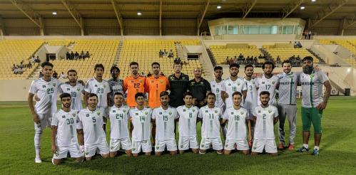 Đội hình Pakistan chuẩn bị cho Asiad 2018 tại Indonesia. Ảnh: TheNews.