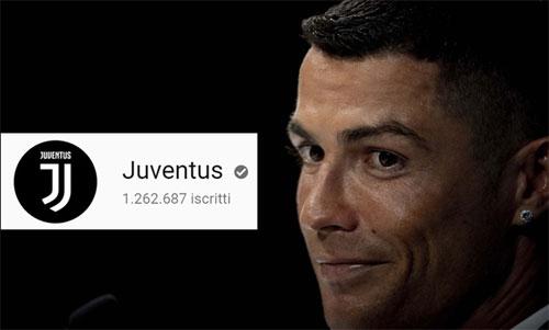 Kênh của Juventus hiện có hơn 1,2 triệu tài khoản theo dõi.