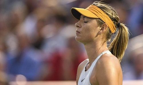Sharapova thua chóng vánh trước đàn em. Ảnh: AP.