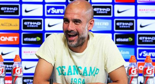 HLV Guardiola tự tin trước thềm mùa giải mới. Ảnh: Man City.