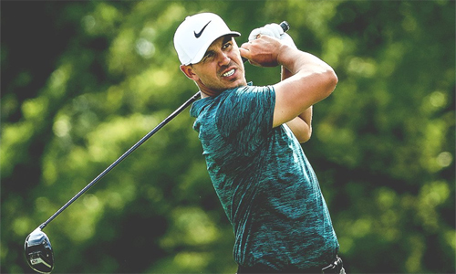Koepka ghi bảy điểm par và hai birdie ở nửa sau vòng, đủ để lần đầu vô địch PGA Championship. Ảnh: Sky Sports.