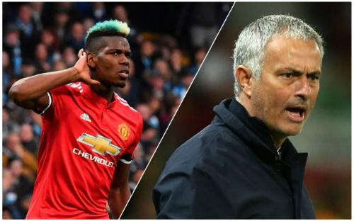 Pogba và Mourinho mâu thuẫn không còn là vấn đề bí mật. Ảnh:AP/Reuters.